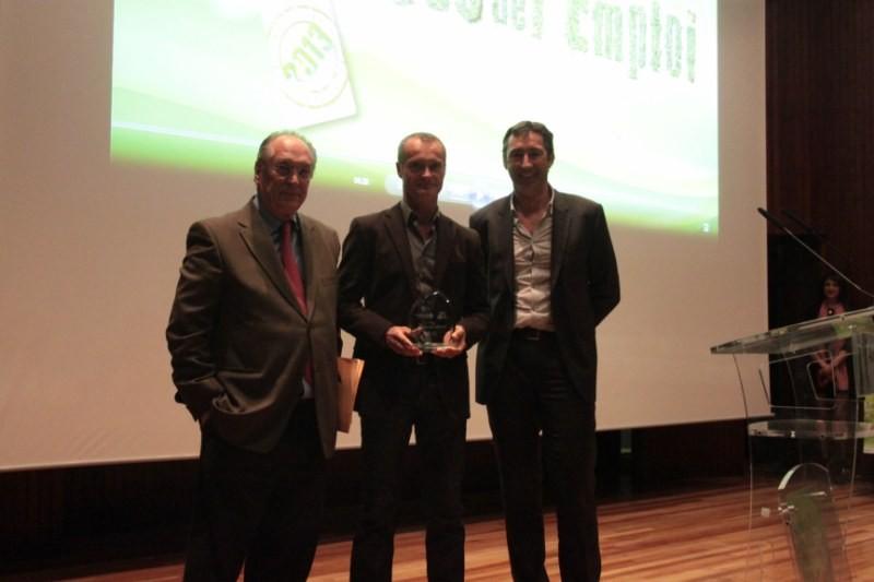 ARCADE reçoit les Trophées de l'emploi en 2013