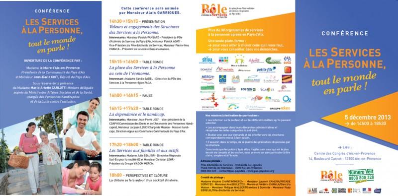 Les services à la personne Aix en Provence, tout le monde en parle : Arcade participe à la Conférence