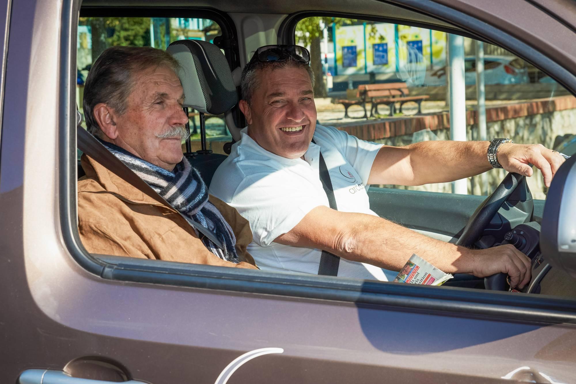 ARCADE vous accompagne en voiture