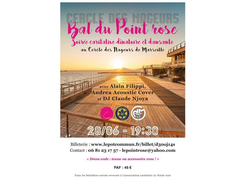 Le Bal du Point Rose - Cercle des nageurs - Jeudi 28 juin 2018