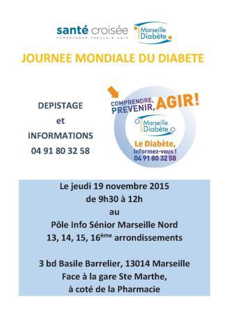 dépistage diabete