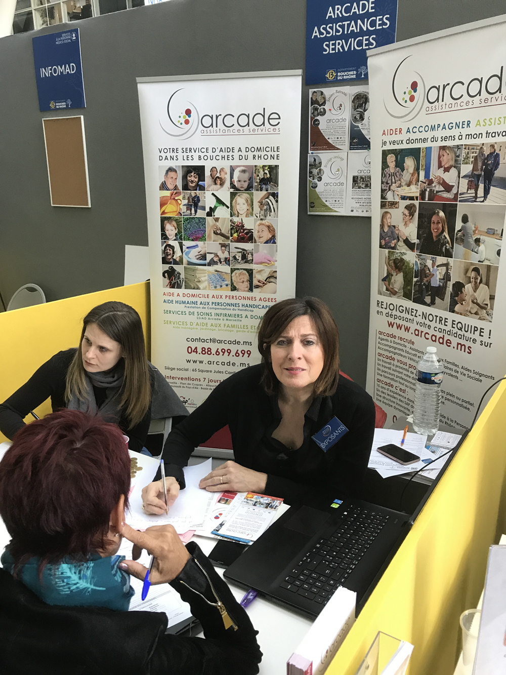 ARCADE présente au 2ème Forum de l'Emploi  en Provence