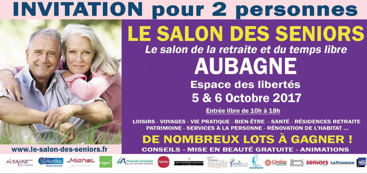 Salon des séniors Aubagne 2017