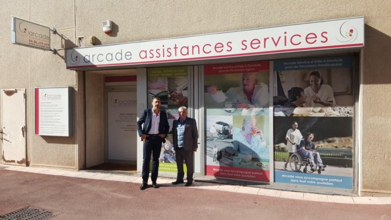 Viisite de M. REY Maurice, Délégué aux Personnes âgées, Conseil Départemental 13