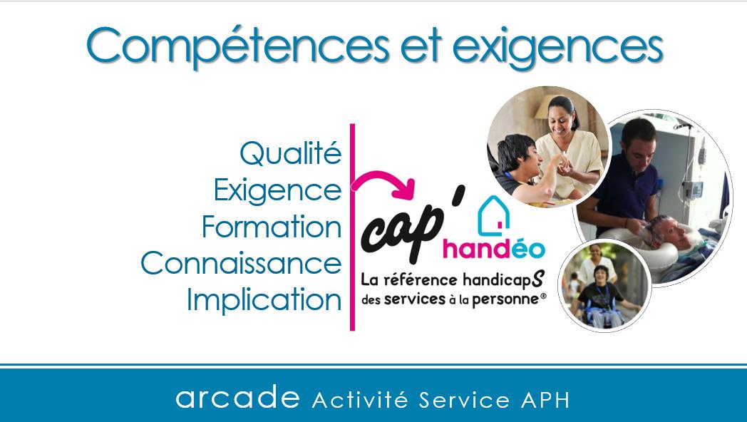 Le label Cap'handéo : un service d'aide à la personne de qualité labellisé