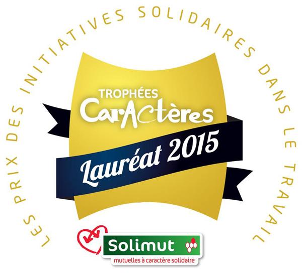 ARCADE récompensée aux Trophées Caractères Novembre 2015
