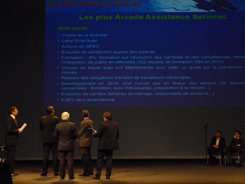 ARCADE, nominée à nouveau aux Trophées de l'emploi 2011