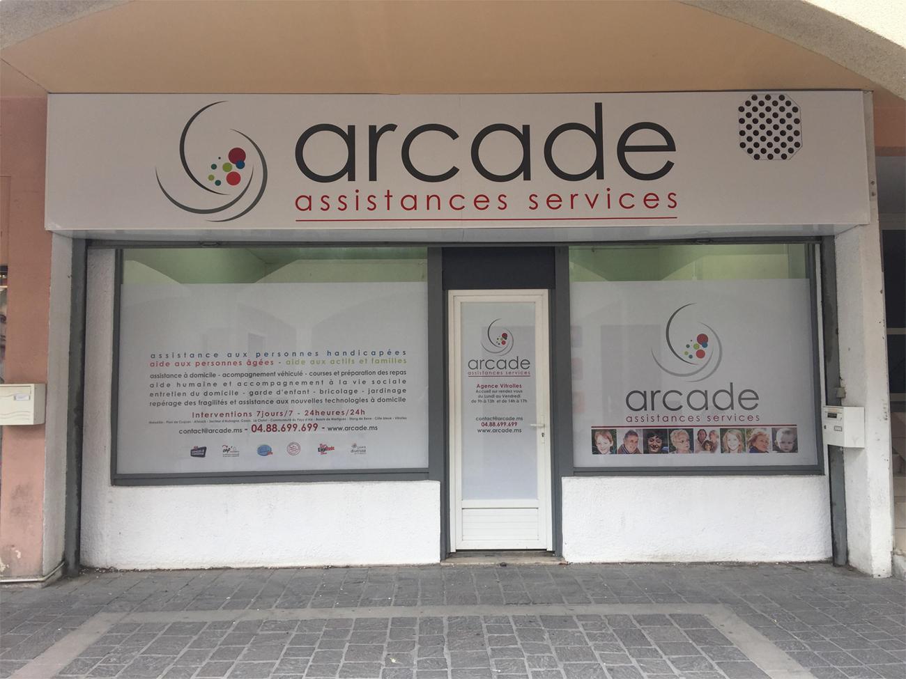 Aide et Assistance à domicile : Agence Arcade Assistances Services à  Vitrolles
