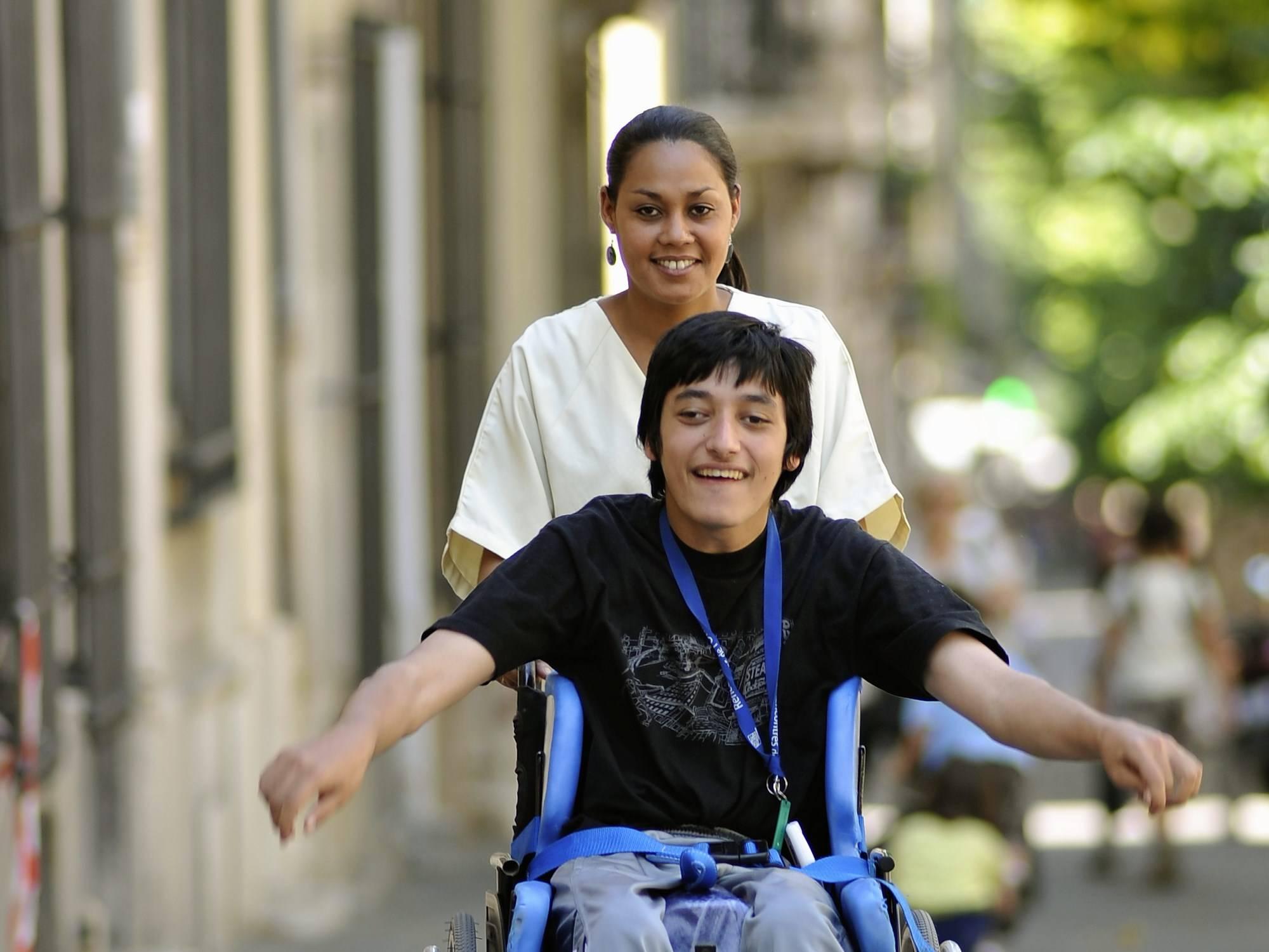 Services aux personnes handicapées