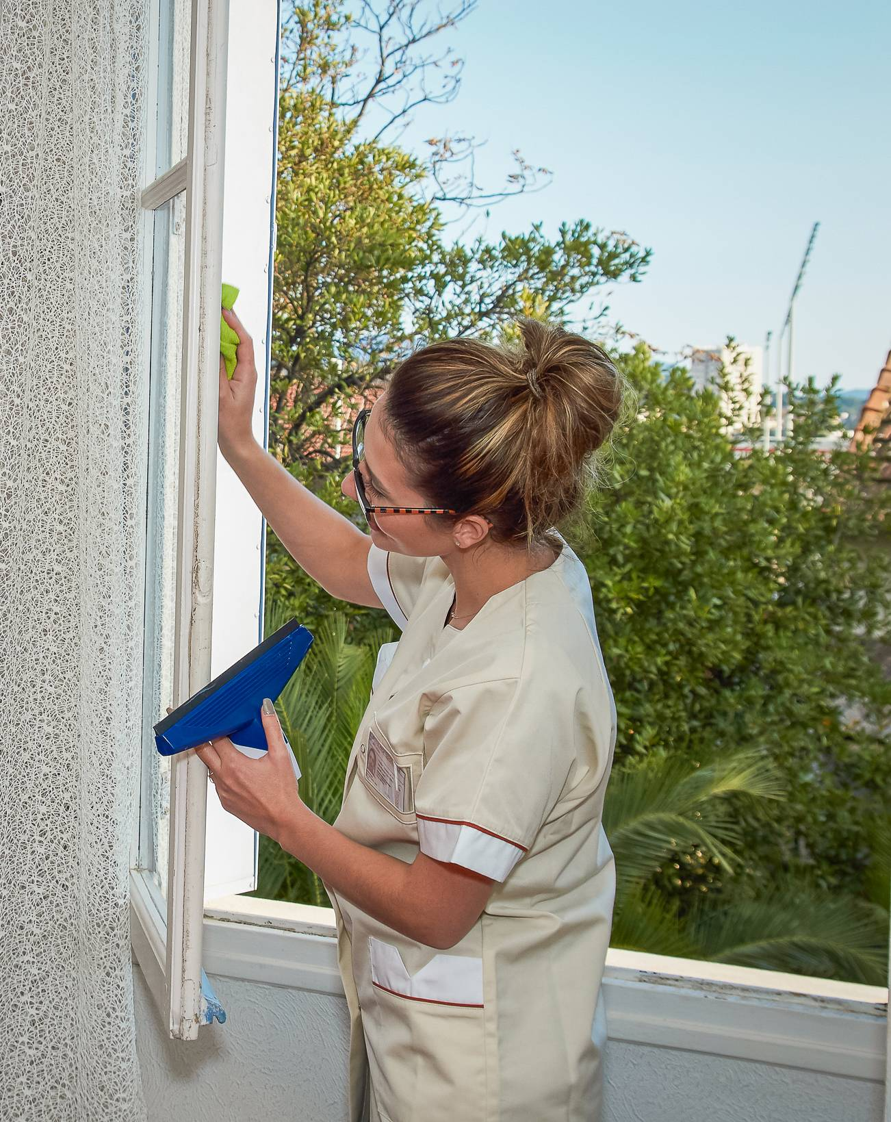 Des vitres propres avec ARCADE