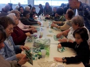 Les bénéficiaires Aixois invités au Loto d'ARCADE ASSISTANCES SERVICES