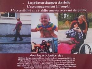 Arcade participe à la Conférence sur le Handicap à Châteauneuf les Martigues