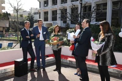 Patrick AGATI, directeur général Arcade remercie nos élus