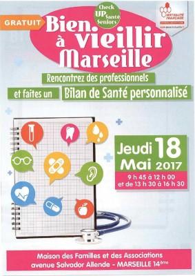 SEPTEMBRE 2017 : MARSEILLE NORD : LA MUTUALITE FRANCAISE PROPOSE une journée