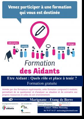 SECTEUR MARIGNANE - UNE FORMATION POUR LES AIDANTS