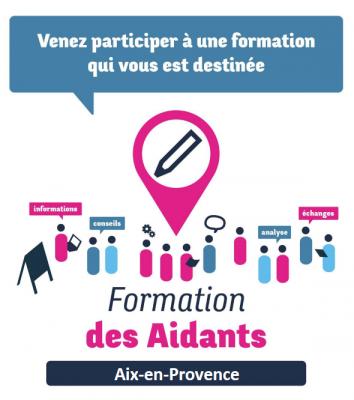 Pays d'Aix : Des Formations à destination des aidants