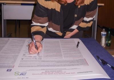 Accès aux soins des personnes en situation de handicap : signature de la charte Romain Jacob