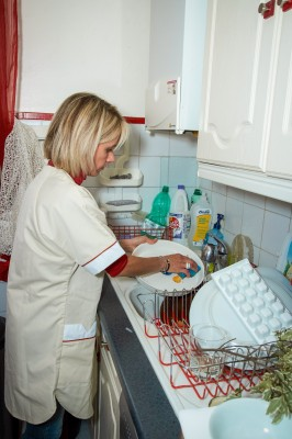 Le service d'entretien quotidien du domicile pour personne handicapée