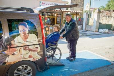 Accompagnement véhiculé pour personnes handicapée